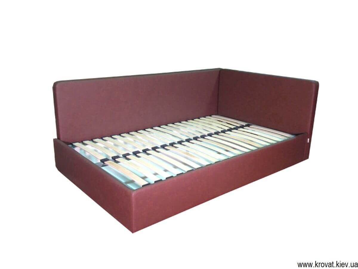 підліткове ліжко в кут