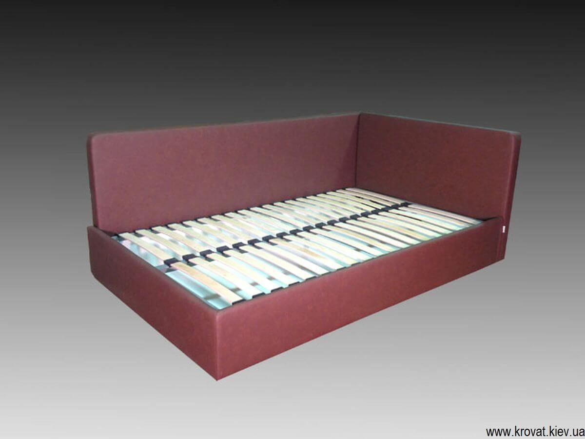 подростковая кровать в угол на заказ
