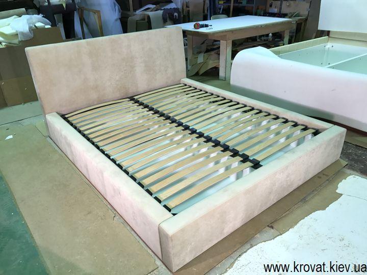 изготовление спальной кровати на заказ
