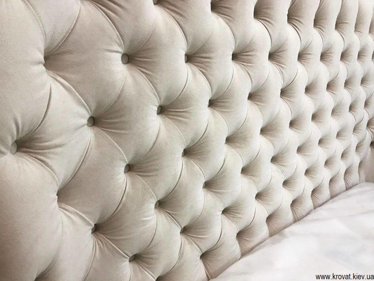 ліжко Мілан з гудзиками