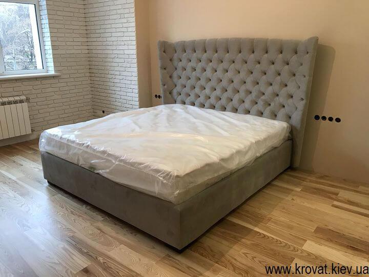 кровать Милан в интерьере спальни