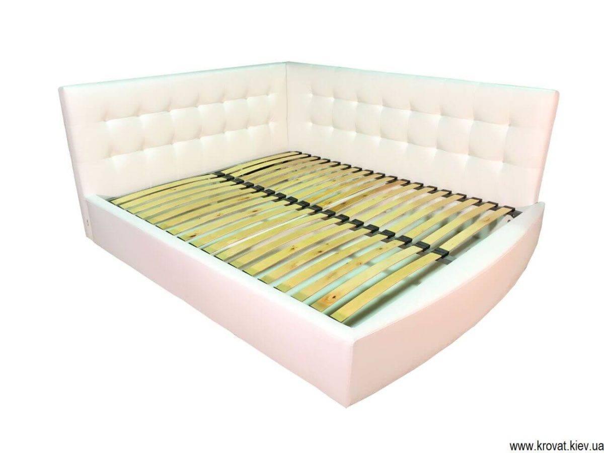 кровать в угол