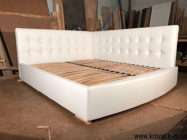 виробництво ліжок в кут