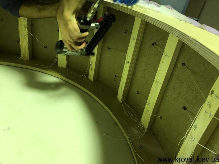 изготовление большого пуфа своими руками