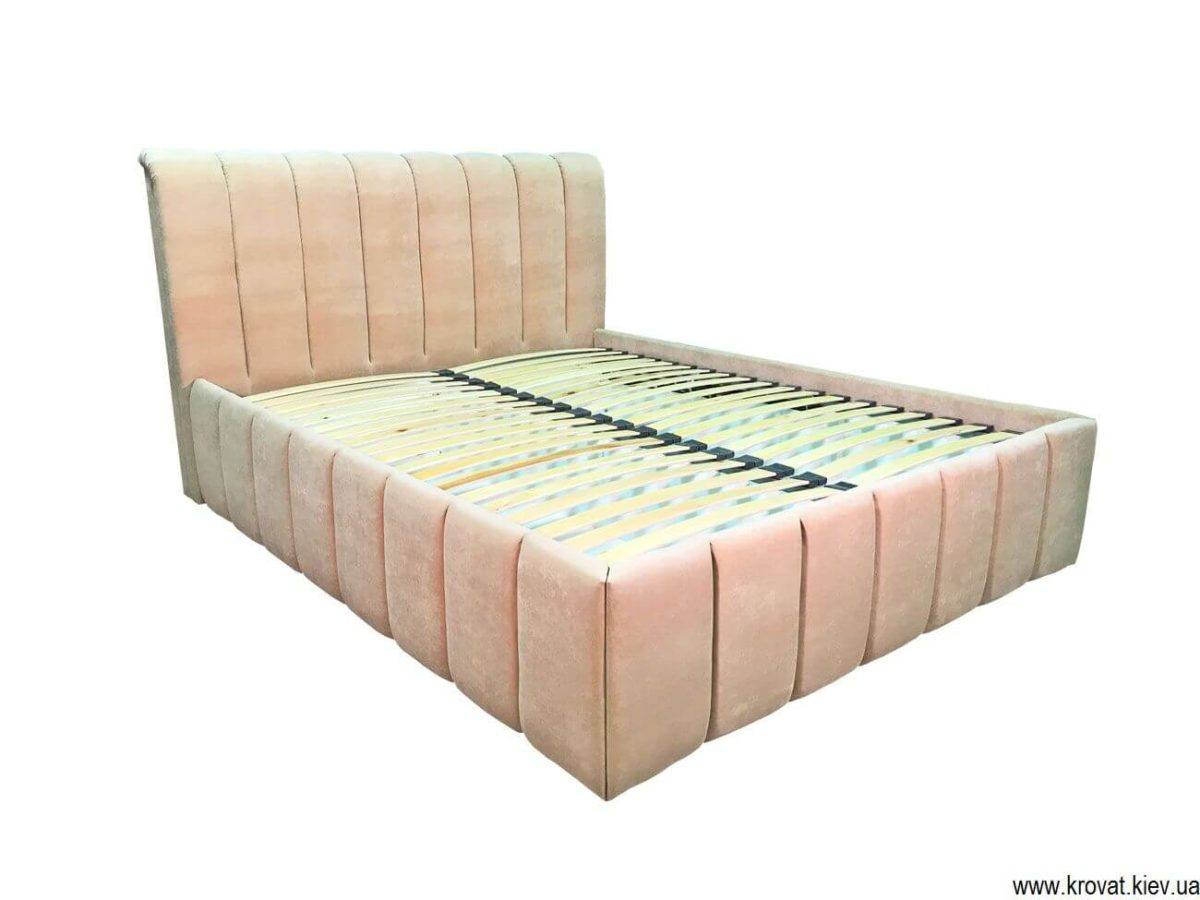 ліжко з вертикальними утяжками