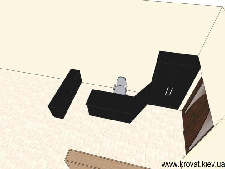 проект мебели для офиса