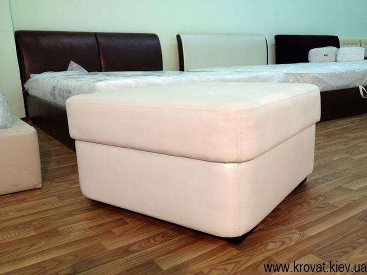 изготовление пуфов к дивану
