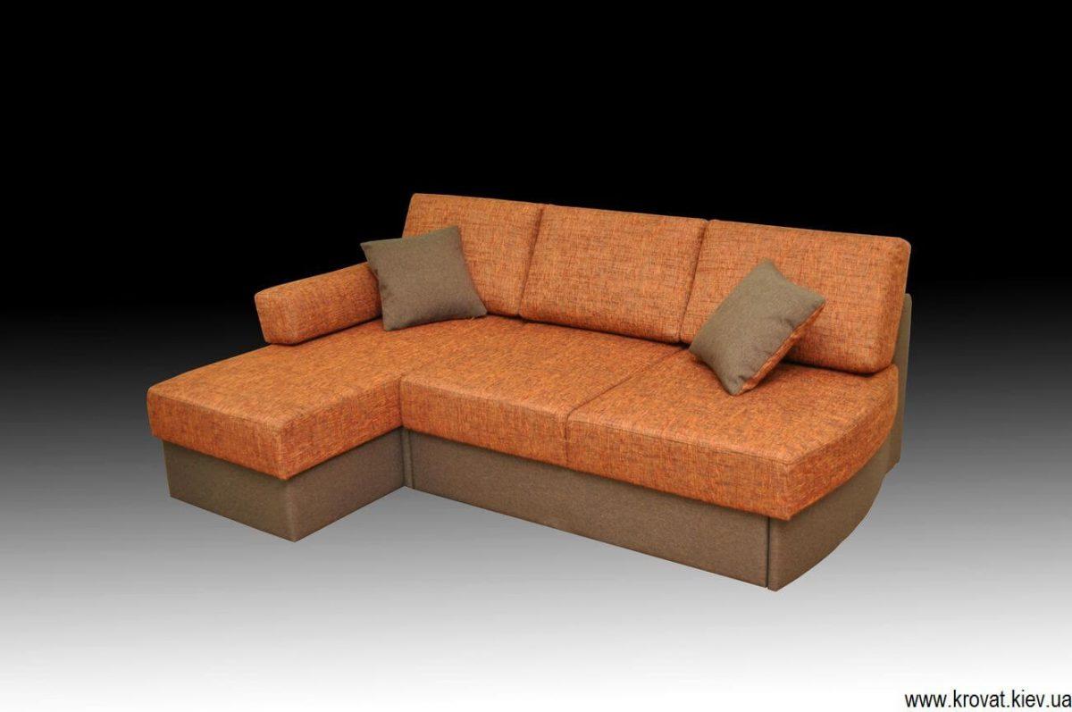 раскладной диван без подлокотников на заказ