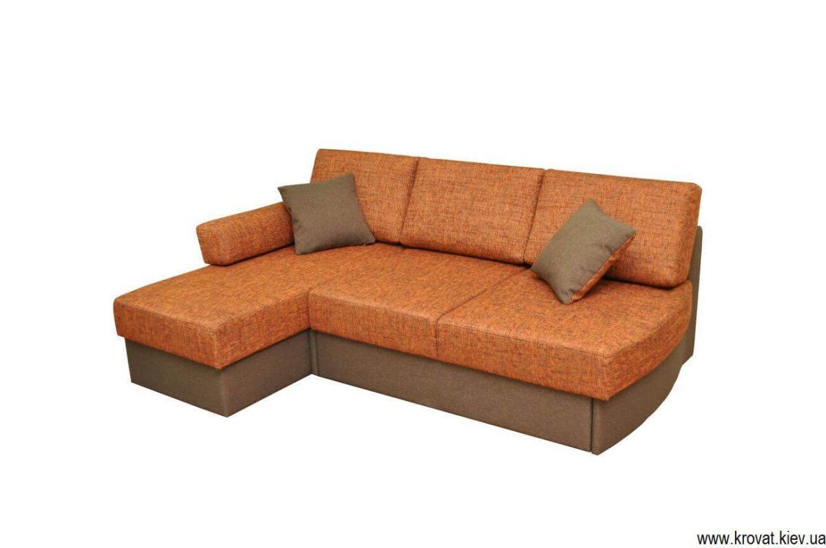 розкладний диван без підлокітників