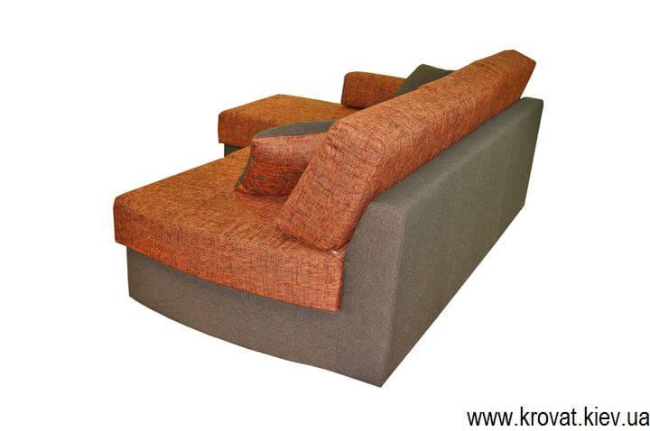 диван без подлокотников на заказ