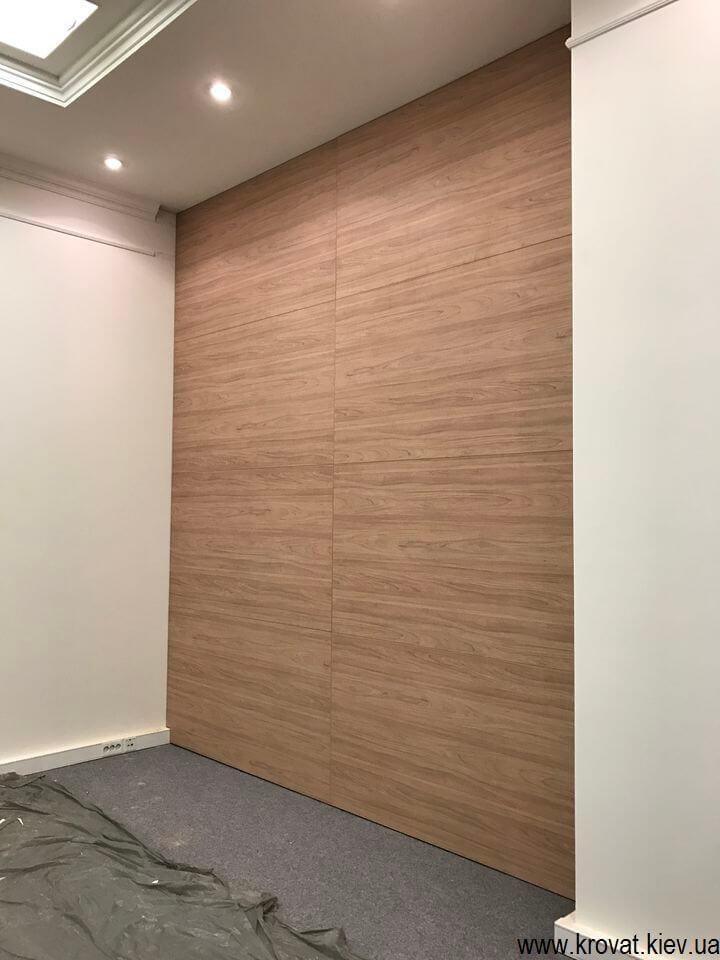 установка панелей для стен