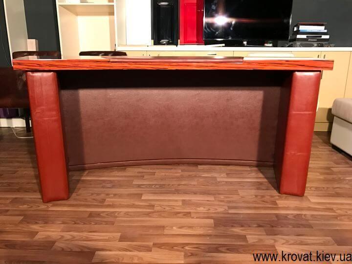 кожаный стол руководителя