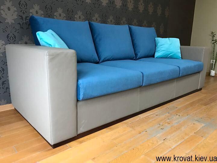 диван без механізму трансформації на замовлення