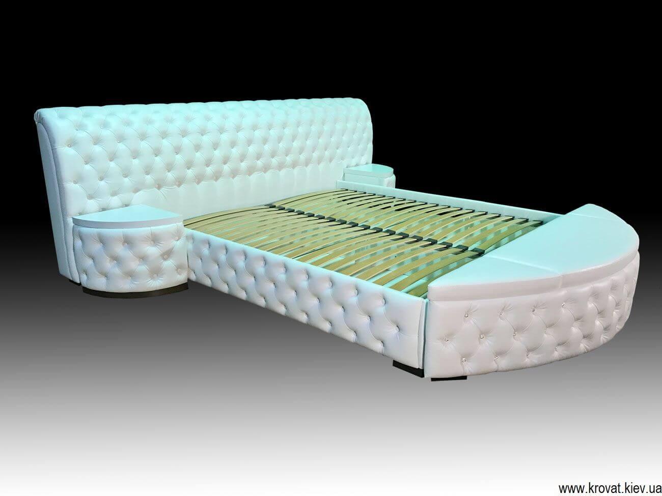 кровать с каретной стяжкой с подъемным механизмом
