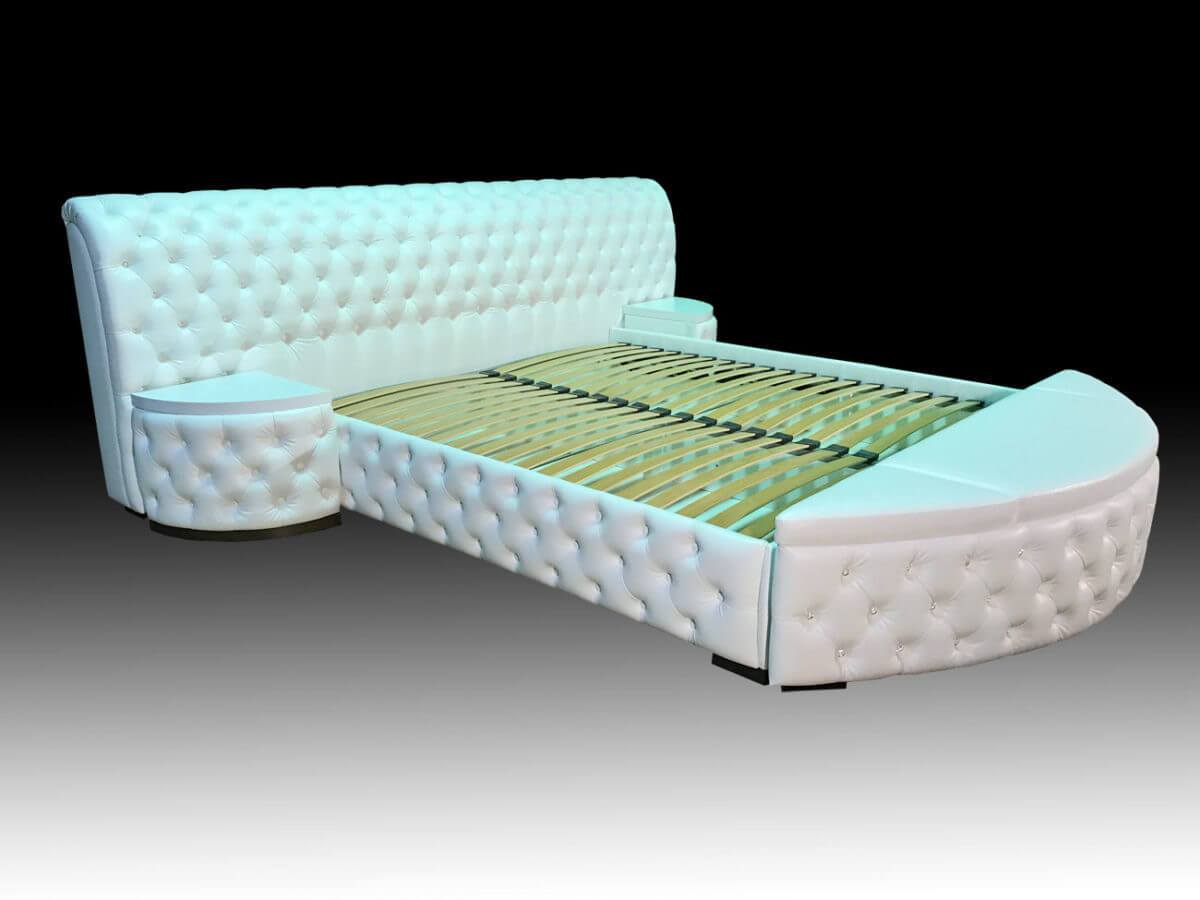 кровати с банкеткой на заказ