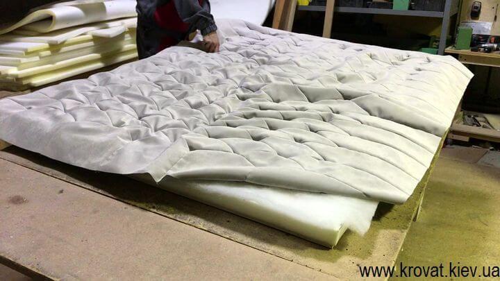 виготовлення м'яких панелей для стін