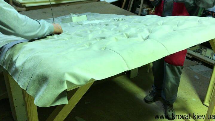 изготовление мягких панелей для стен