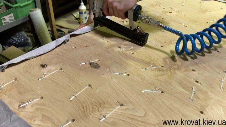 как сделать мягкие панели для стен с капитоне