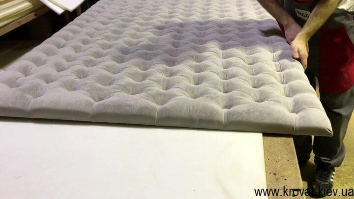 як зробити м'які панелі для стін з каретною стяжкою