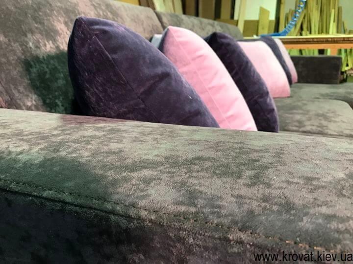 угловые диваны от производителя на заказ