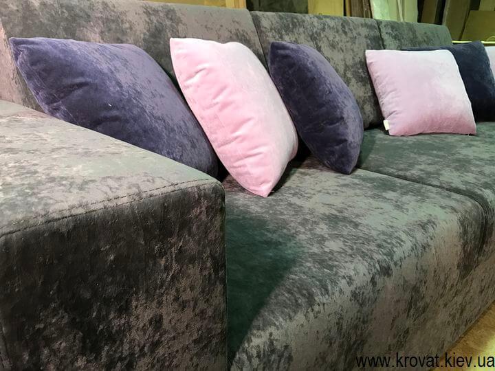 изготовление угловых диванов
