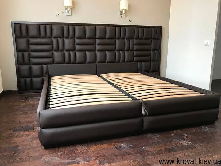 Wide bed to order