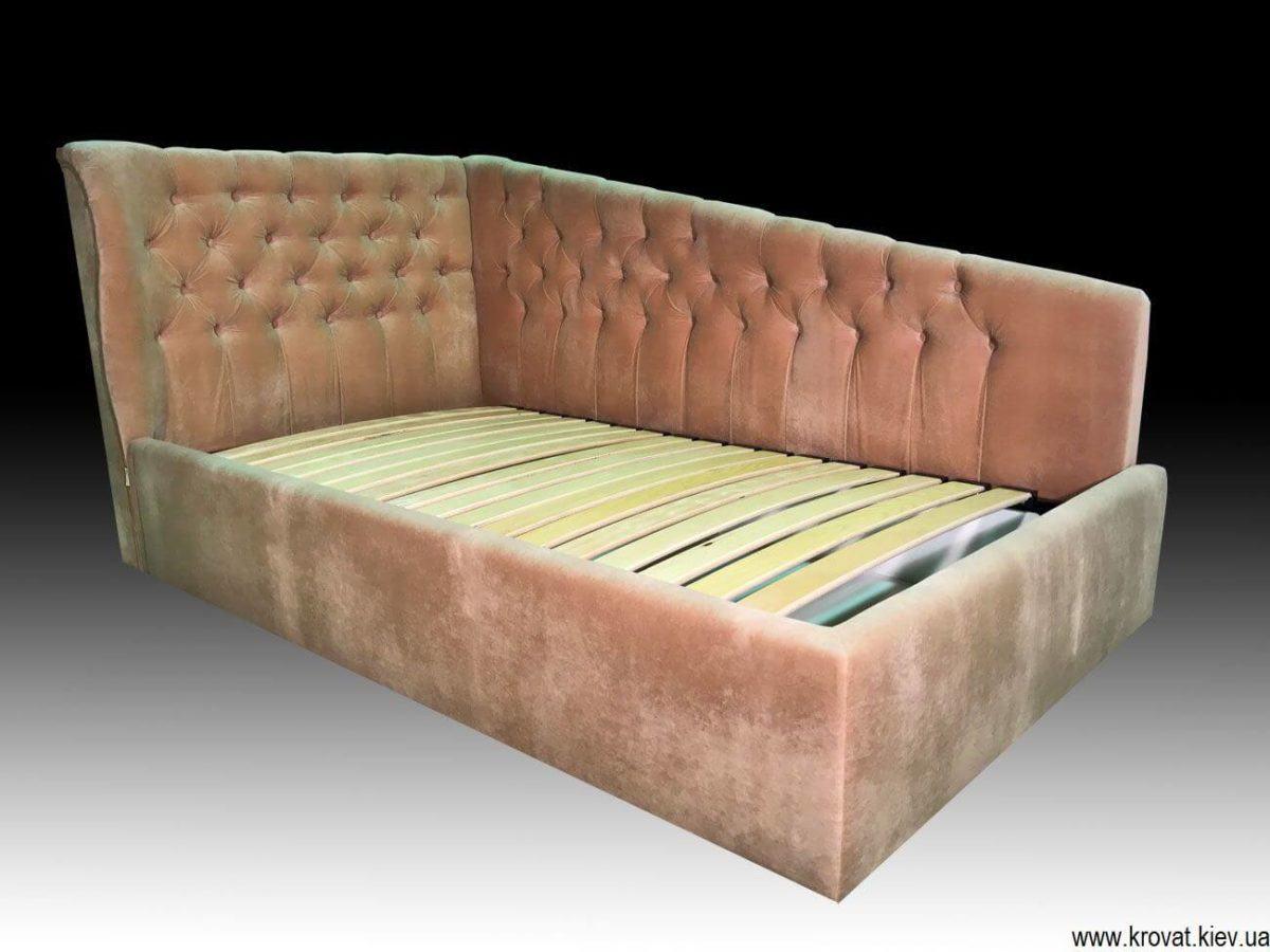 угловая кровать для девочки на заказ