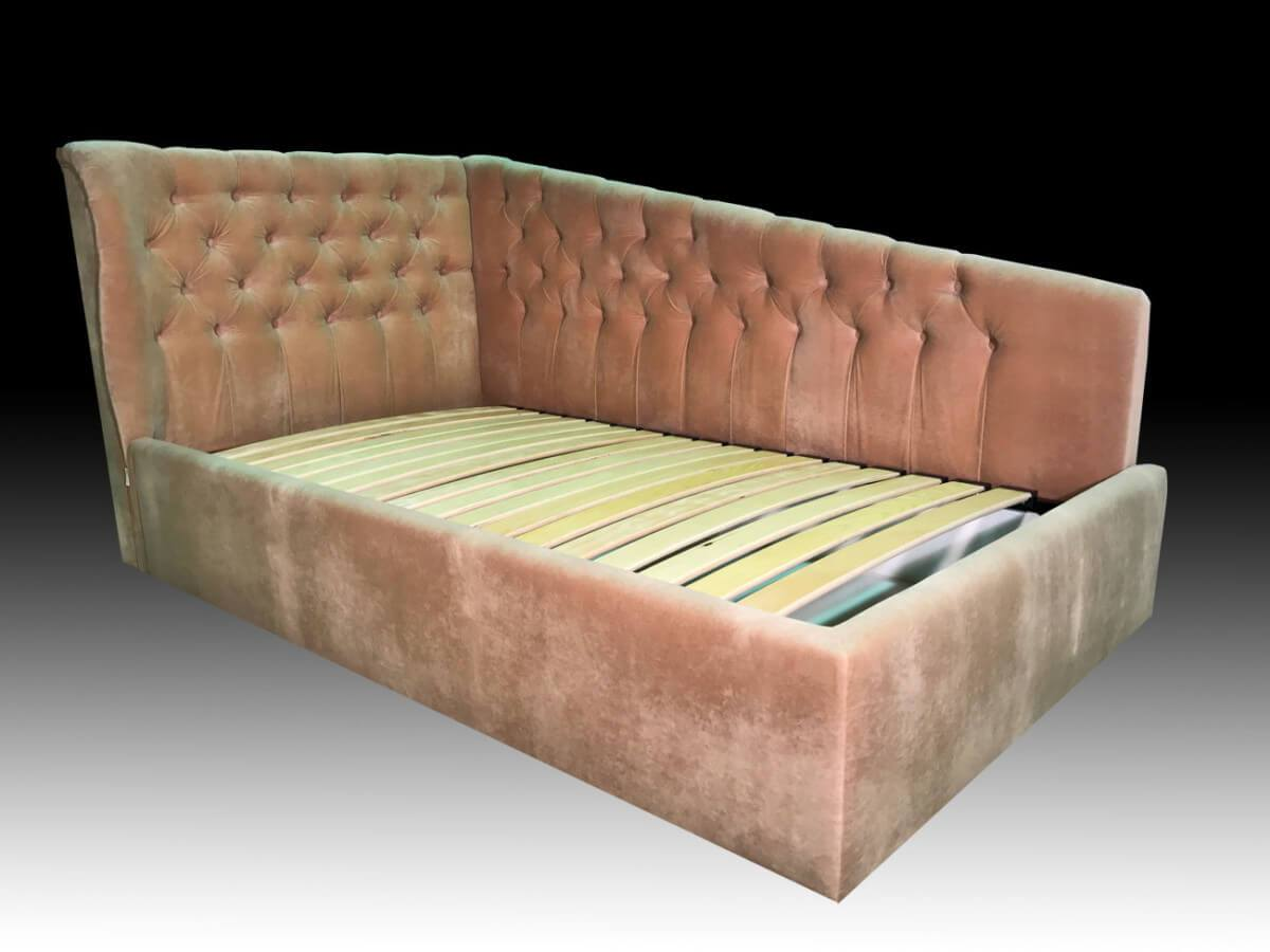 Угловая кровать для девочки