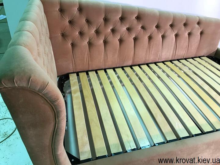 ліжко для дівчинки з підйомним механізмом