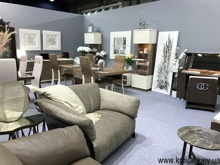 Український простір на выставке мебели 2017