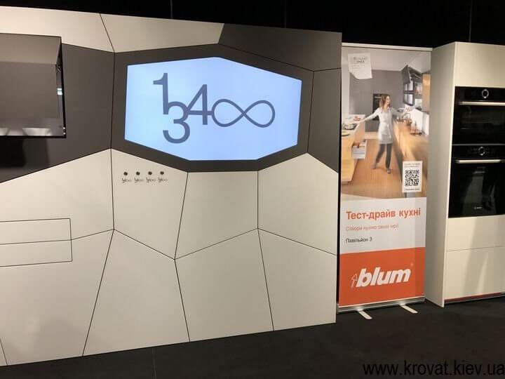Итальянская экспозиция на выставке мебели 2017