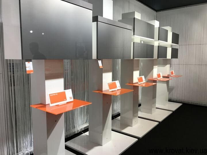 стиль и дизайн на выставке мебели