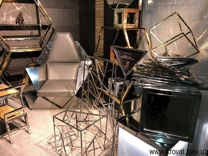 мебель из нержавейки