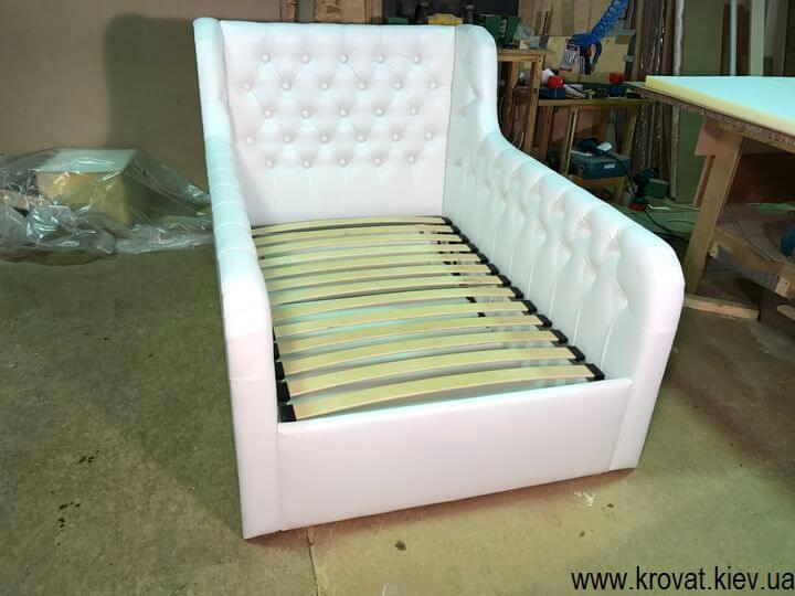 ортопедическая детская кровать с бортиками