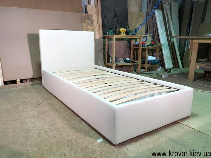 виробництво односпальних ліжок