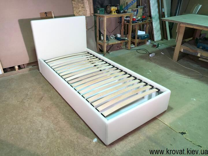 детская односпальная кровать с подъемным механизмом