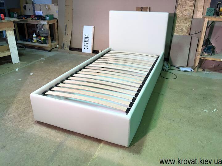 дитяче односпальне ліжко з ящиком