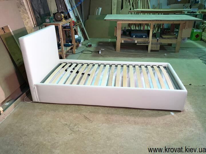 ортопедическая детская односпальная кровать