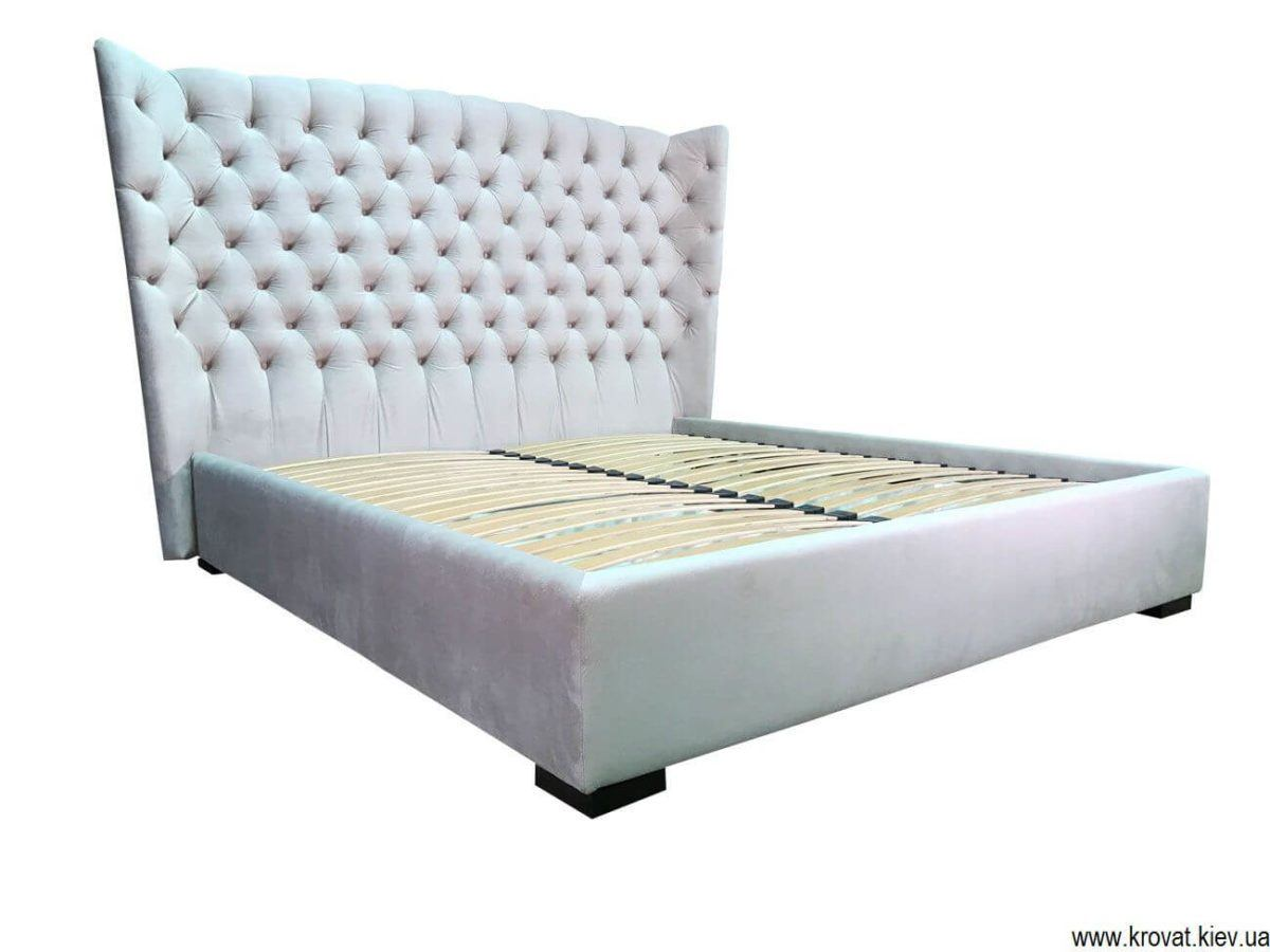 ліжко із закругленою спинкою