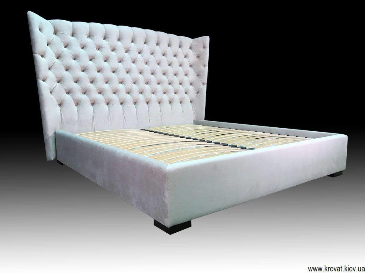 кровать с закругленной спинкой на заказ