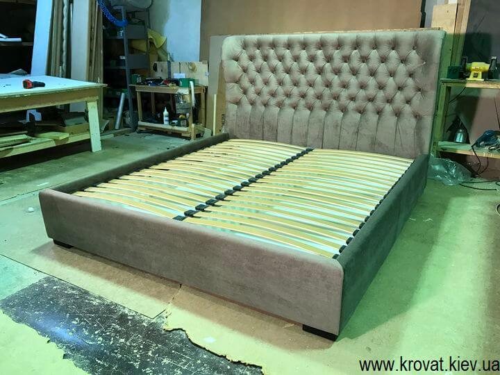 кровать с закругленным изголовьем от производителя