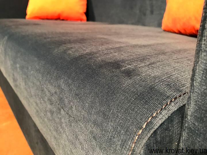 диван для кафе с быльцами