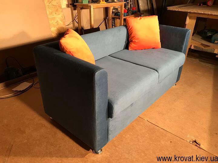 диван для кафе в ткани