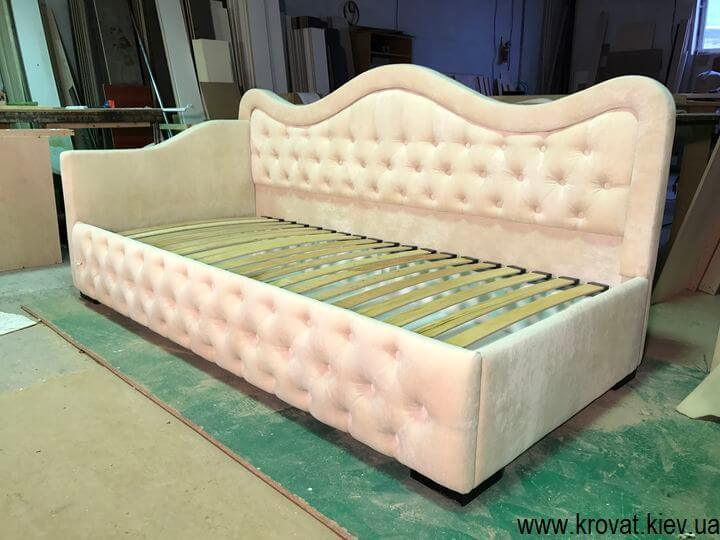подростковая кровать для девочки на заказ
