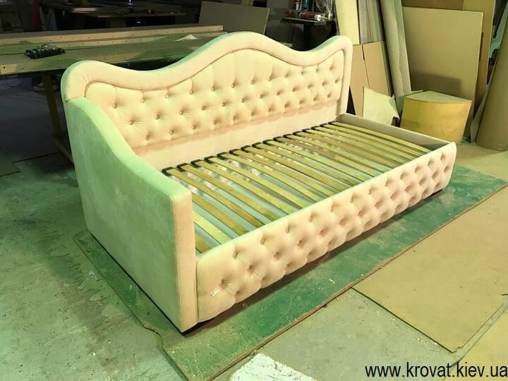 подростковая кровать для девочки в спальню