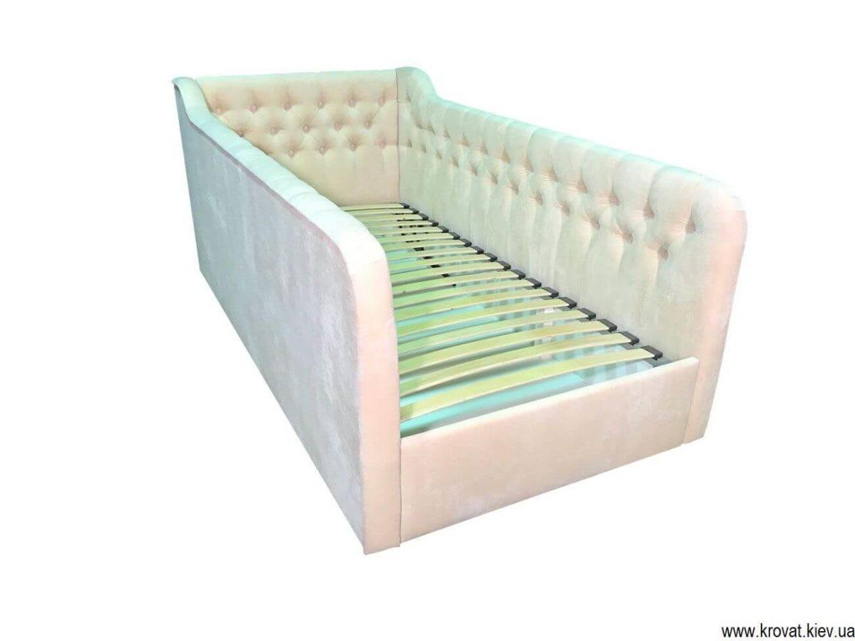 детская кровать от 3 лет с бортиками на заказ