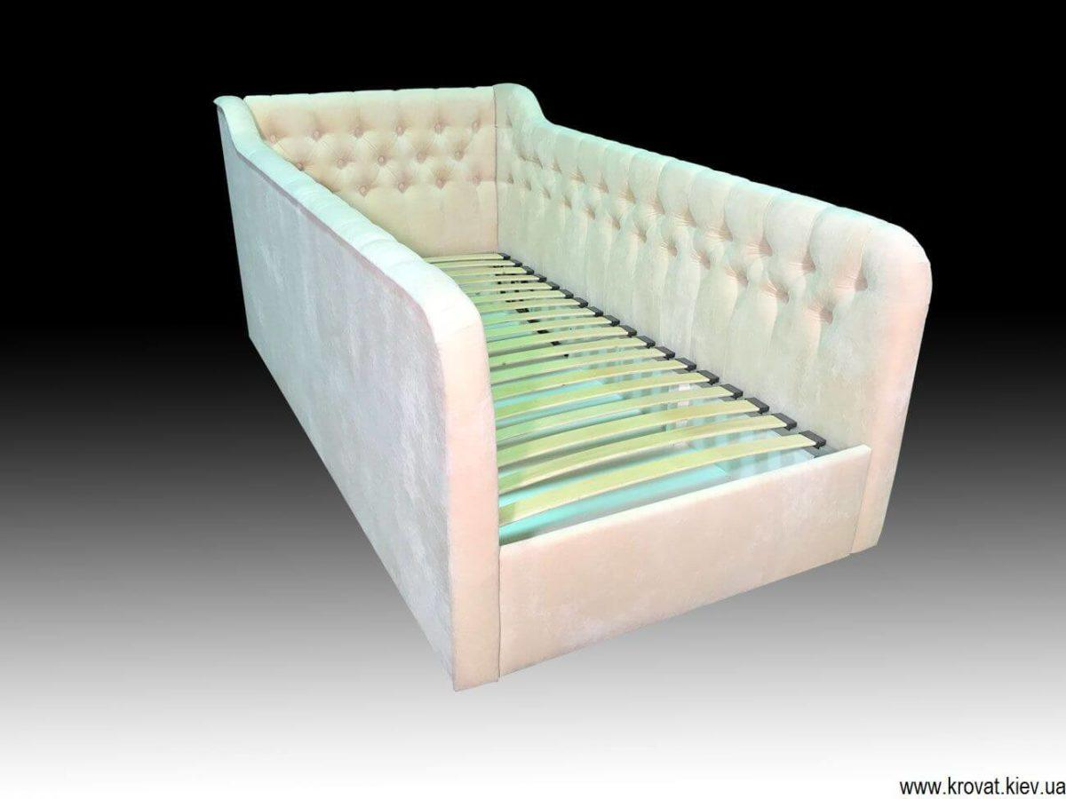 кровать от 3 лет с бортиками на заказ