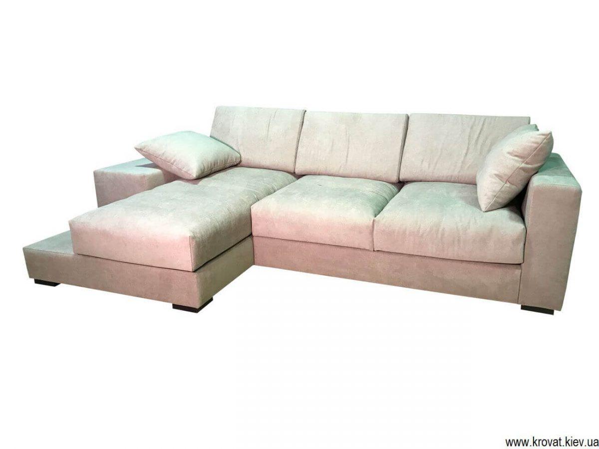 м'який кутовий диван