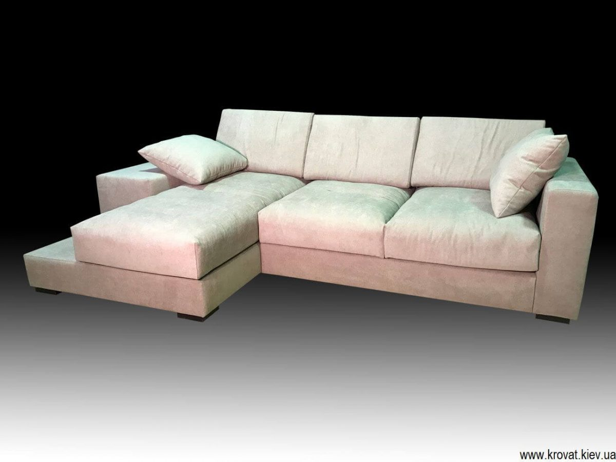 мягкий угловой диван на заказ