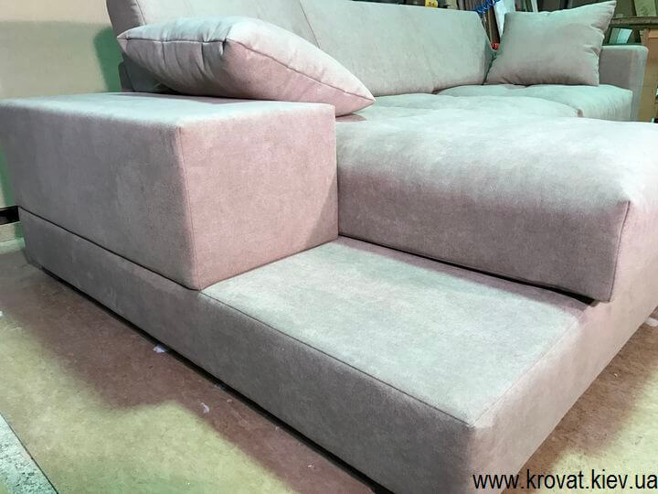 очень мягкий угловой диван на заказ